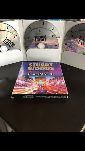 STUART WOODS book PARIS MATCH on CD . Listen in your home or car with home CD player or car CD player for Sale in Port St. Lucie, FL
