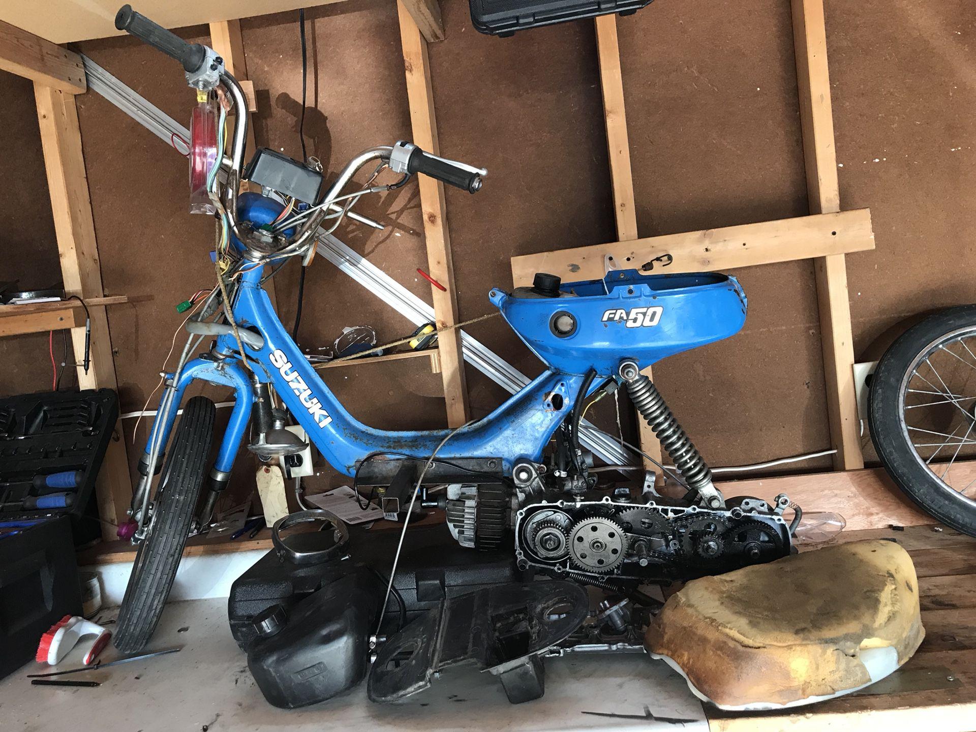 Photo 1982 Suzuki fa50 moped project