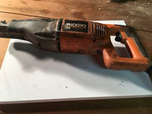 RIDGID R3001 120V CORDED RECIPROCATING SAW for Sale in Baltimore, MD