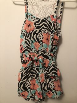 Girls size 4t rompers Thumbnail