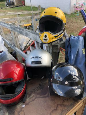 Youth motocross helmets GOOD CONDITION for Sale in Crewe, VA