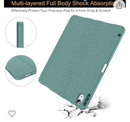 iPad Air 4 Case 10.9 Inch 2020 with Pencil Holder Thumbnail