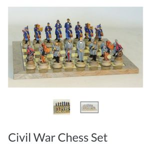 Civil war chess set, used for sale  Tulsa, OK