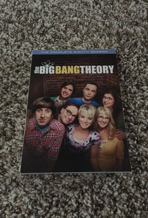 The Big Bang Theory 8th season-DVD for Sale in Chicago, IL