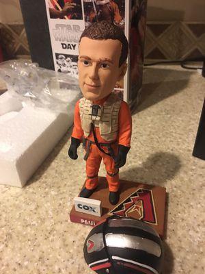 Paul Goldschmidt Star Wars bobble head X Wing pilot. for Sale in Gilbert, AZ