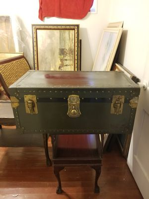 Vintage military chest trunk for Sale in Forest Heights, MD
