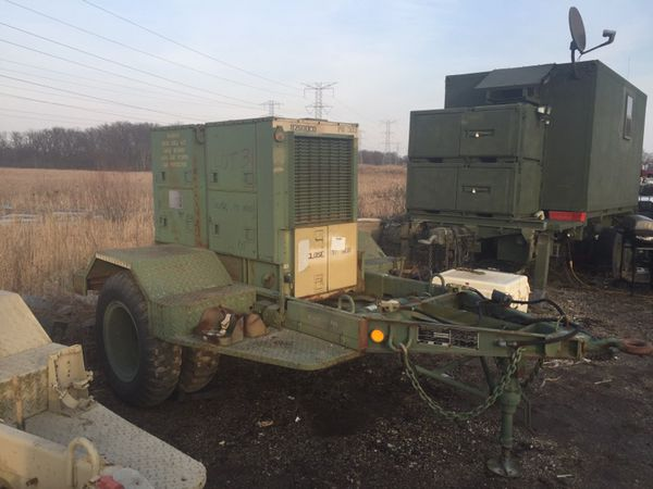 15kw military diesel generator-low hours for Sale in McHenry, IL - OfferUp