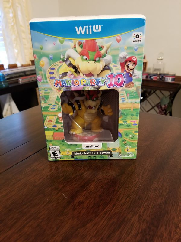 Bowser Amiibo In Mario Party 10 Box Nintendo Wii U Switch For Sale In Cocoa Fl Offerup