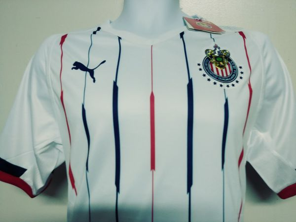 big sale 20c56 6b234 Chivas Soccer Jersey (Away) white for Sale in Perris, CA - OfferUp