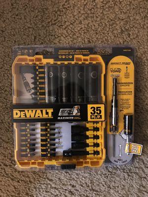 Dewalt 35 pc for Sale in Houston, TX