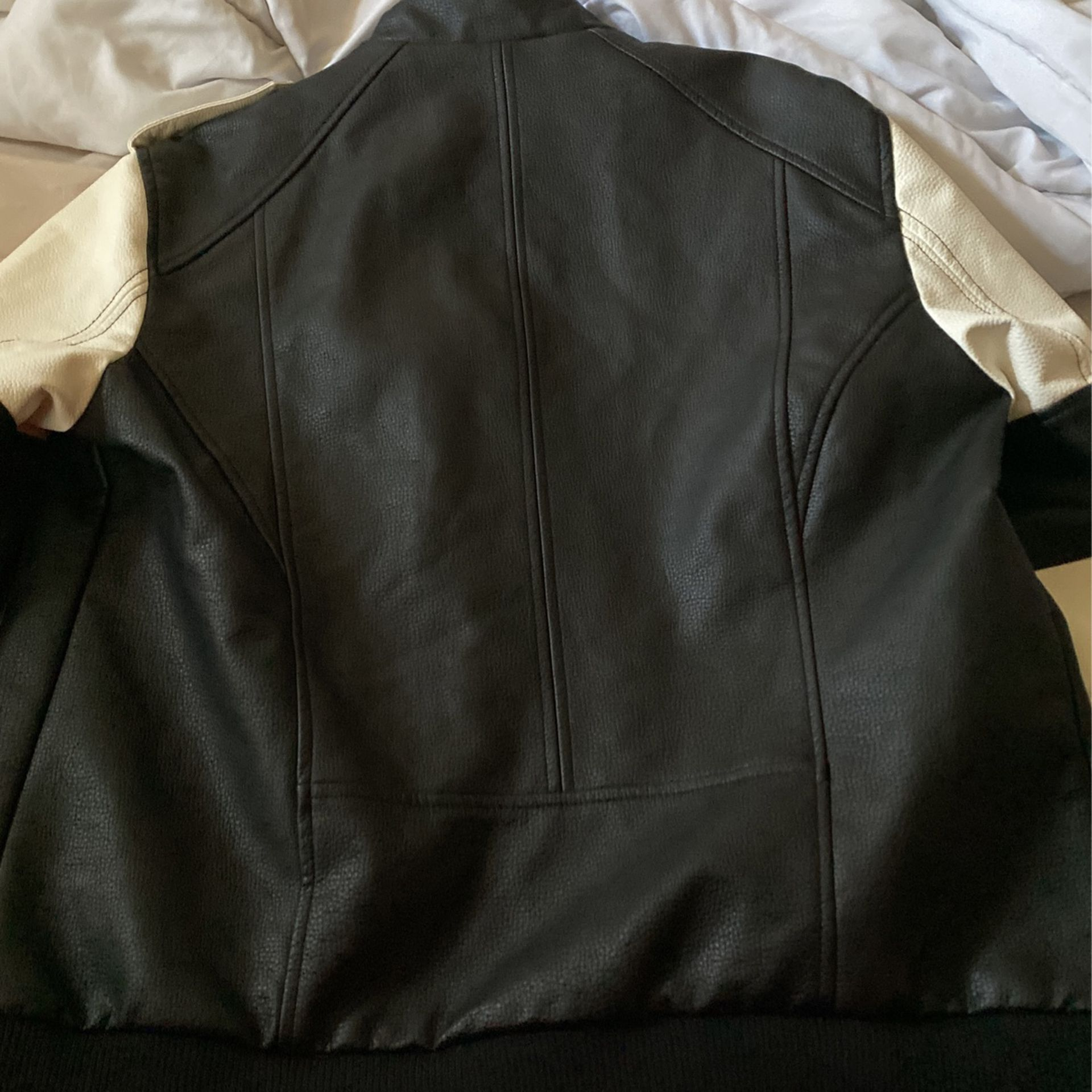 Non Leather jacket Punk/rock