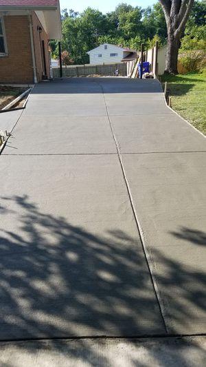 We do concrete jobs sidewalks concrete driveways stamped concrete gradas de concreto salidas indepientes de beismant for Sale in Silver Spring, MD