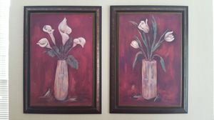 """Set of 2 Pictures 40x24"""" each for Sale in Davie, FL"""