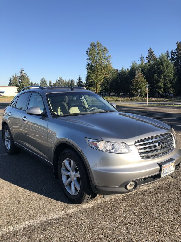 2005 infiniti fx35 awd for sale in tacoma wa offerup. Black Bedroom Furniture Sets. Home Design Ideas