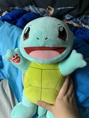 Photo Build a bear squirtle