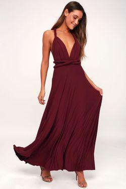 Brand New Wine Formal Dress! Thumbnail