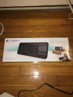 Logitech K400 Wireless Touch Keyboard for Sale in Baltimore, MD