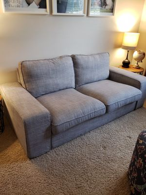 Grey Couch, excellent condition for Sale in Chantilly, VA