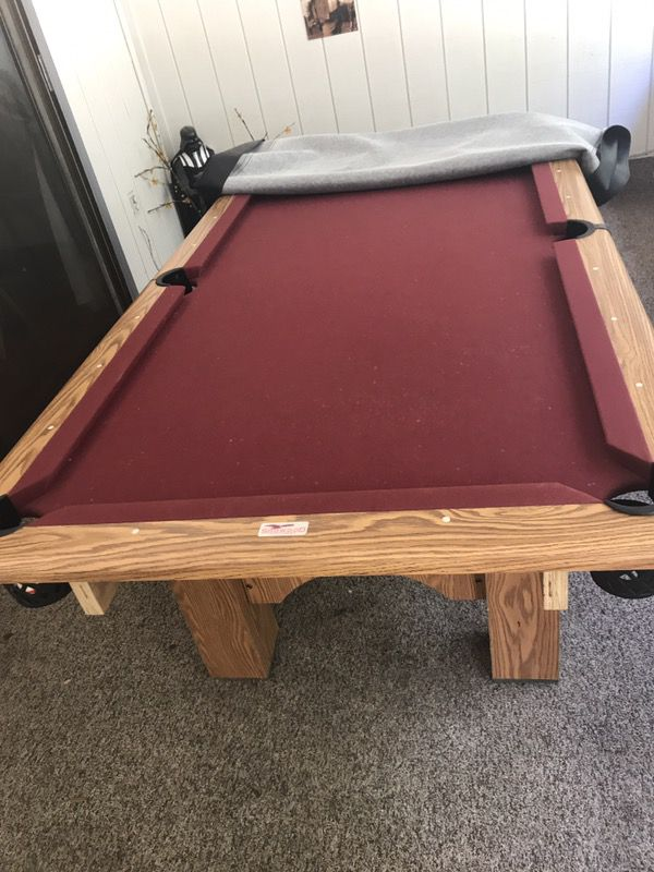 Ft Showood Pool Table For Sale In Jacksonville FL OfferUp - Showood pool table