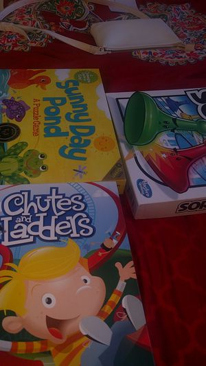 Kids games chutes and ladders,sorry ,sunny pond for Sale in McLean, VA