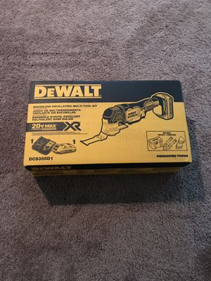 Dewalt 20V Max XR 28 piece Cordless Multi-tool for Sale in Middle River, MD