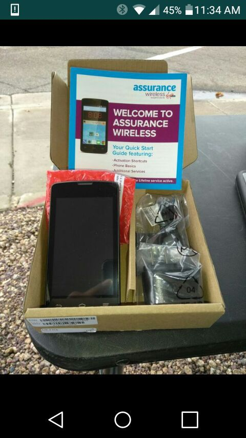 Free Phone From Assurance Wireless For Sale In Phoenix Az Offerup
