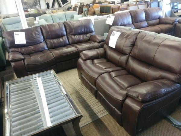 Tremendous Cindy Crawford Gianna Brown Leather Power Reclining Sofa And Unemploymentrelief Wooden Chair Designs For Living Room Unemploymentrelieforg