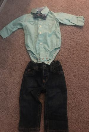 Worn only once ! Carters baby boy outfit 9 months so cute !! for Sale in Alexandria, VA