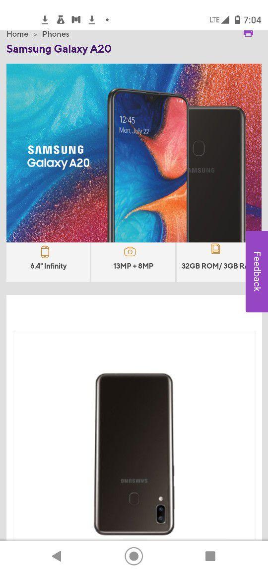 Samsung A20 For Metro Pcs