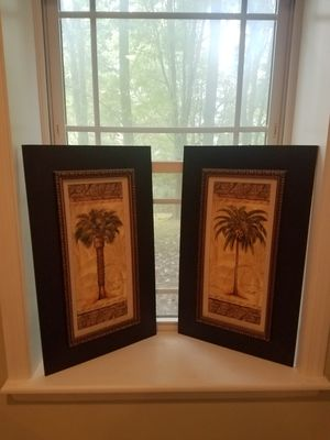 Set of Palm Trees Wall Art for Sale in Frederick, MD