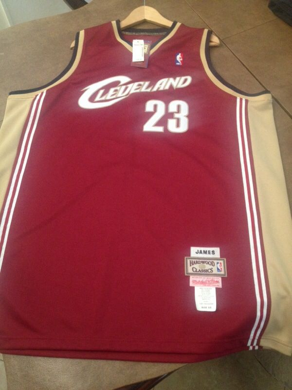 huge discount df4b0 55c5f where can i buy mitchell and ness lebron james jersey 2739a ...