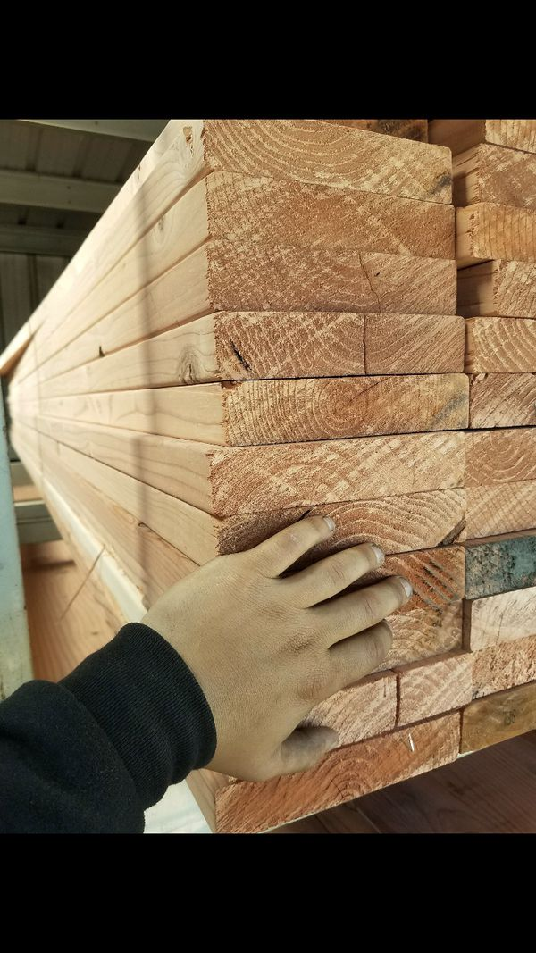 45 brand new pieces of 2x8x16 conhart redwood for Sale in Hayward, CA -  OfferUp