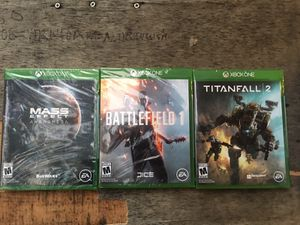 3 NEW Xbox games for Sale in New York, NY