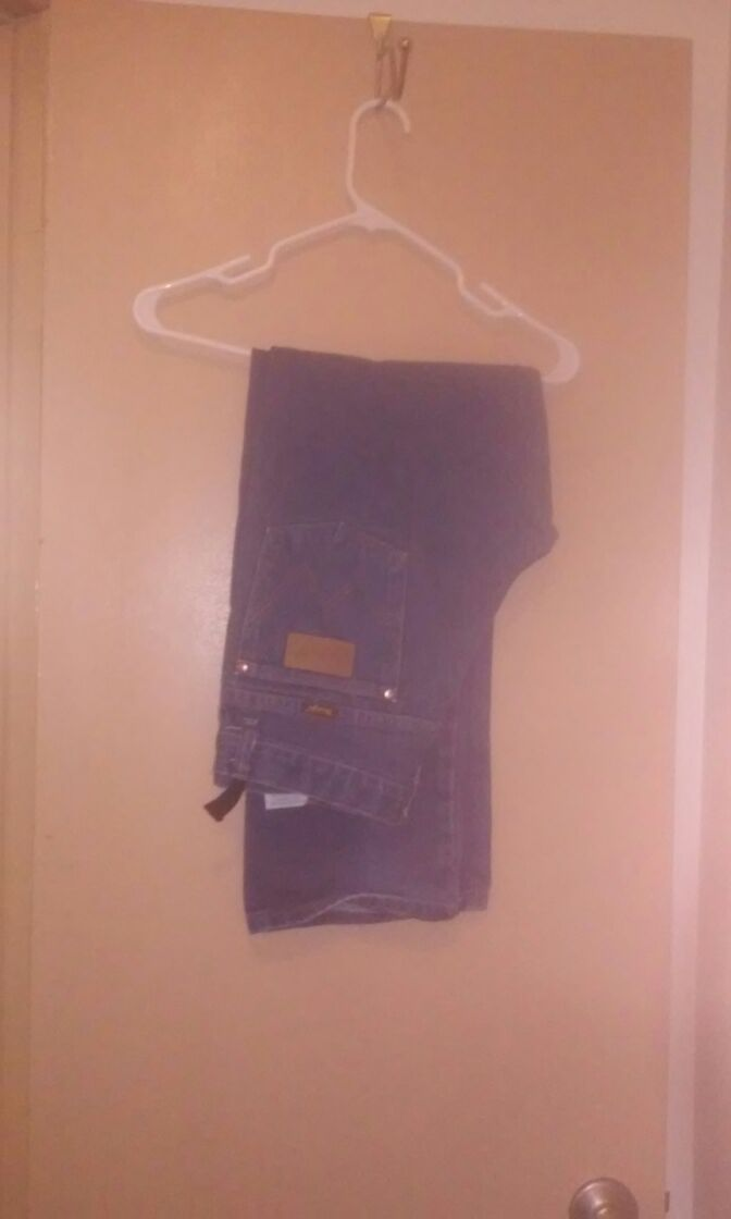 Wrangler jeans.