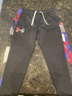 Girls Under Armor Sweatsuit Set. Size Large  Thumbnail