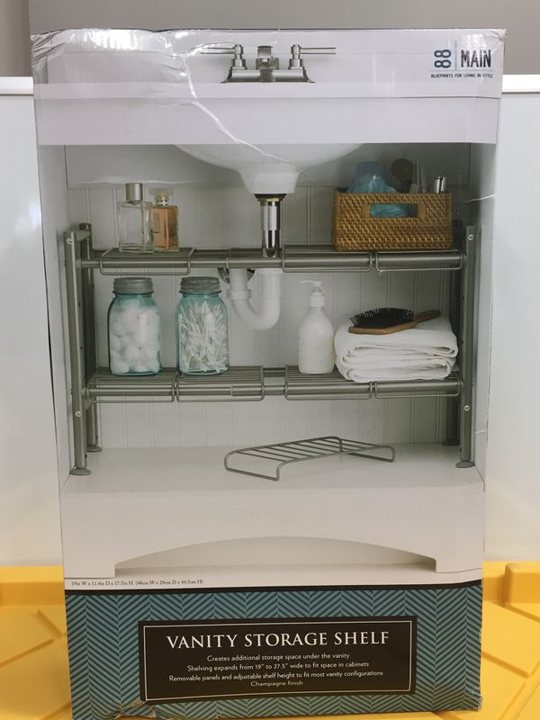 Fantastic Expandable Under Sink Storage Rack Champagne 88 Main For Sale In Los Angeles Ca Offerup Download Free Architecture Designs Itiscsunscenecom