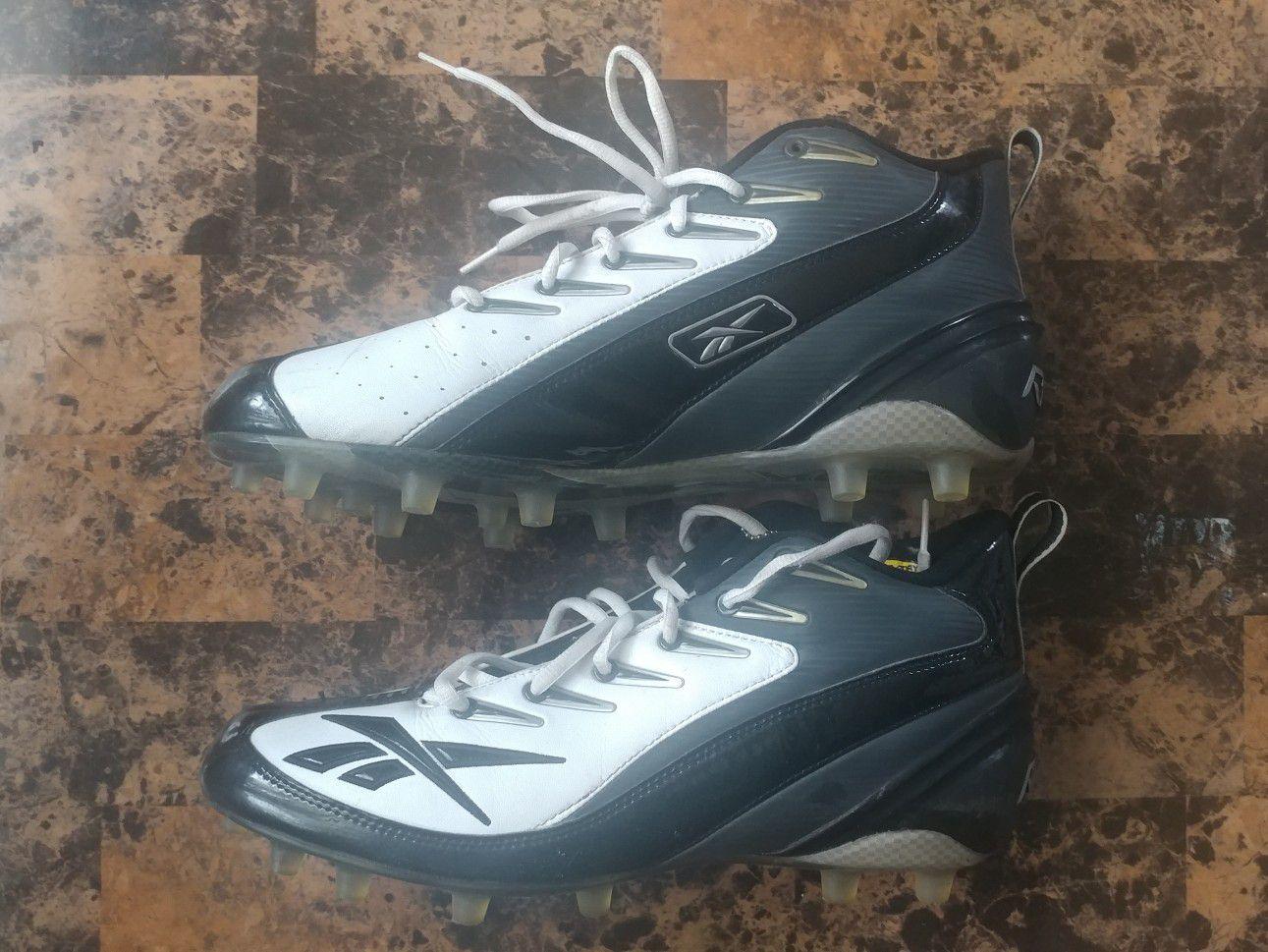REEBOK MEN'S NFL 4 SPEED III MID FOOTBALL CLEATS SIZE:12
