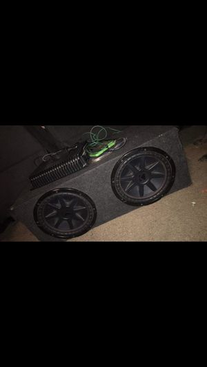 Photo 2-12 inch New Kicker CVR Dual voice Coil Subs