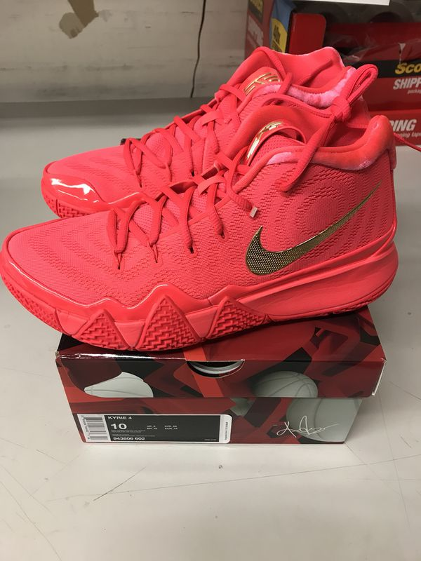 95831fa853db Nike Kyrie 4 Red Carpet size 10 for Sale in San Jose
