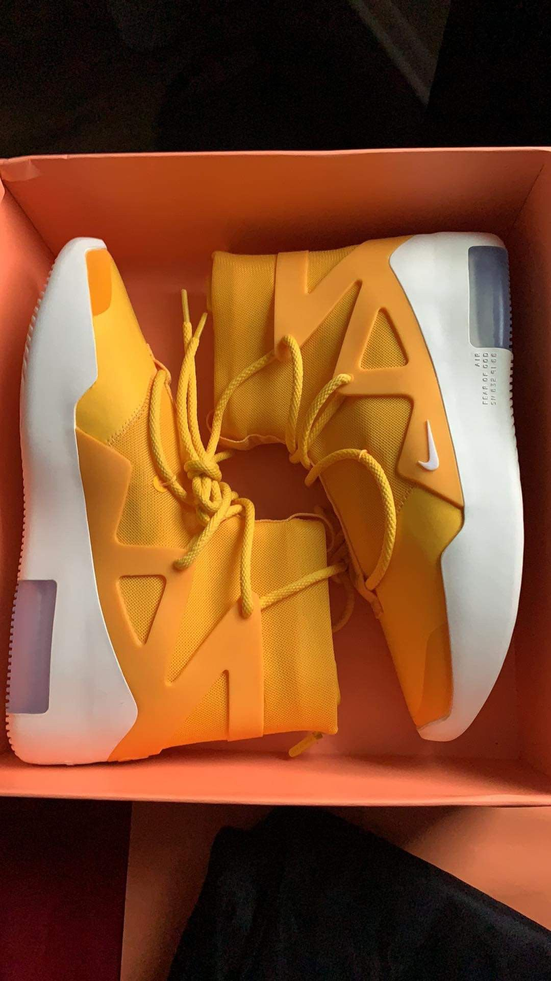 Nike Air Fear of God Yellow HOT!!!