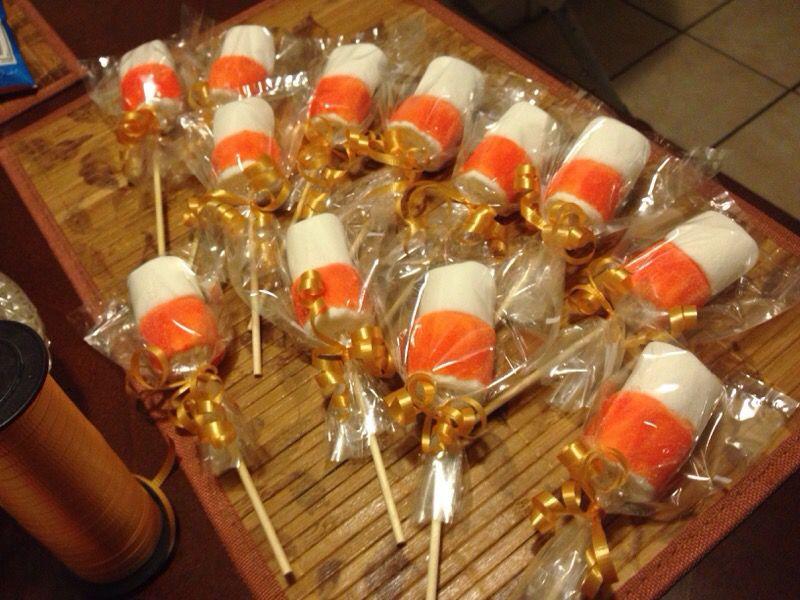 Marshmallows pops