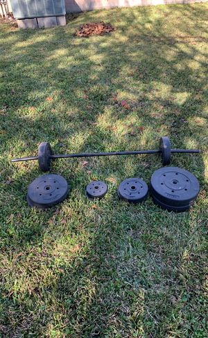 Weight set for Sale in Deer Park, TX
