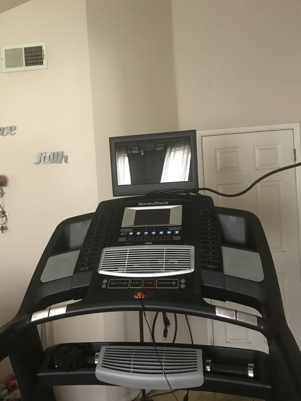 Nordictrack Elite 7700 With Tv For Sale In Antioch Ca Offerup