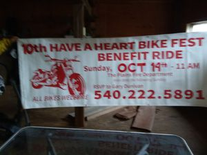 10th annual Have a Heart Bike Fest. Come join us! for Sale in The Plains, VA