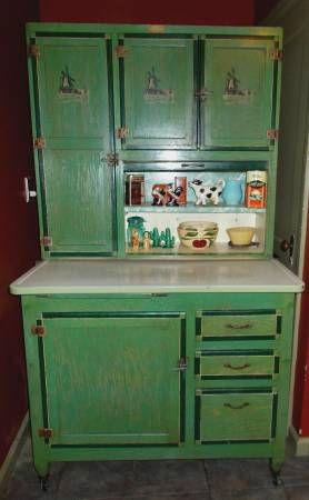 Antique Ariel Handy Helper Hoosier style kitchen cabinet for Sale in ...