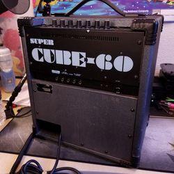 Roland Super Cube-60 Guitar Amplifier  Thumbnail
