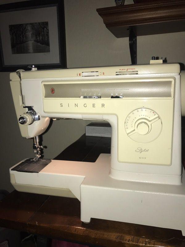Singer Sewing Machine Stylist 40 Household In Las Vegas NV Fascinating Sewing Machines Las Vegas
