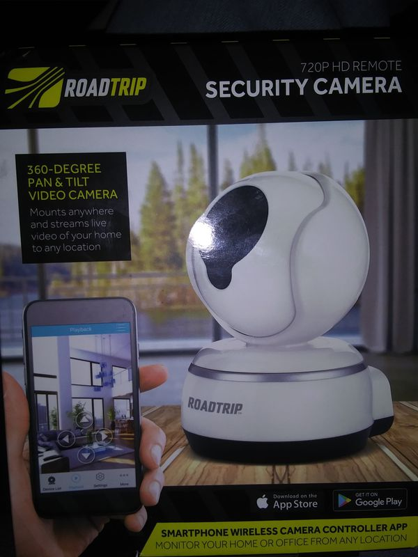 Road Trip 720P HD Remote Security Camera for Sale in Salem, OR - OfferUp