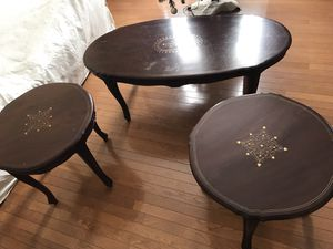 Coffee table and two end tables for Sale in Germantown, MD
