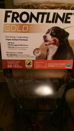 Front line gold for dogs for Sale in Tampa, FL